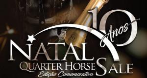 X LEILÃO NATAL QUARTER HORSE SALE